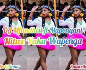 Dj Mfundisi Nitwe Vaku Wapenga Mp3 Download Fakaza